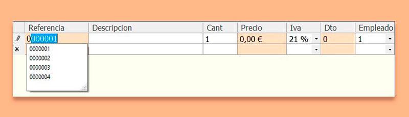 Aplicación para presupuestos TPV inTacto RED