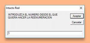 Tpv inTacto RED - Reenumerar Tickets y Facturas
