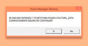 Tickets TPV InTacto RED